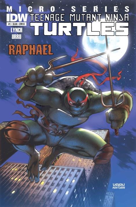 IDW Raphael #1