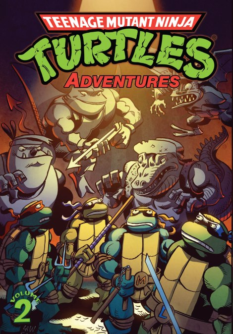 Teenage Mutant Ninja Turtles Adventures vol 2